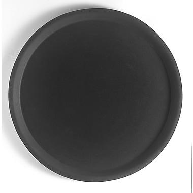 Cambro 1400CT Round Fiberglass Camtread Trays - Black