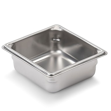 Vollrath 30622, 2-1/2'' Deep Super Pan V™ Stainless steel Sixth-Size Steam Table Pan