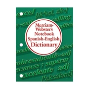 MERRIAM WEBSTER® Notebook Spanish-English Dictionary