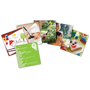 Learning Resources® Snapshots™ Critical Thinking Photo Card Set, Grades PreK - K