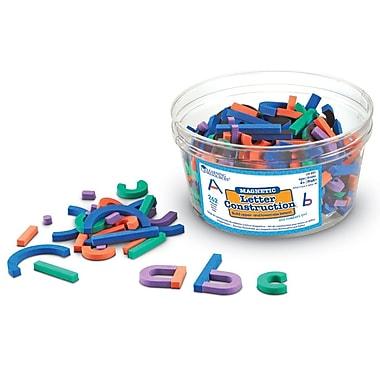Learning Resources® Magnetic Letter Construction Set, 262/Set