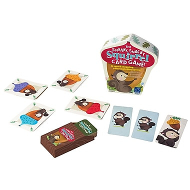 Educational Insights® The Sneaky Snacky Squirrel Card Game, Grades PreK+
