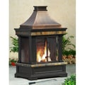 Sunjoy Brownston Outdoor Fireplace