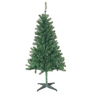 Jeco Inc. 5' Green Pine Artificial Christmas Tree w/ 200 Clear Lights w/ Stand