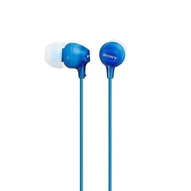 Sony MDREX15LPI Fashion Colour Ex Series Earbuds, Blue