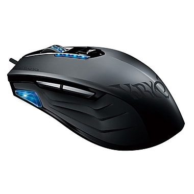 Gigabyte Aivia Krypton USB Wired Pro-Laser 8200 dpi Dual-Chassis Gaming Mouse, Black