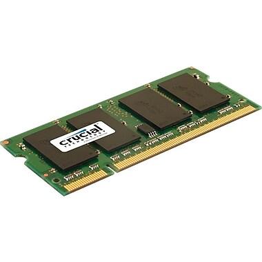 Crucial – Mémoire DDR2 SODIMM à 200 broches de 2 Go