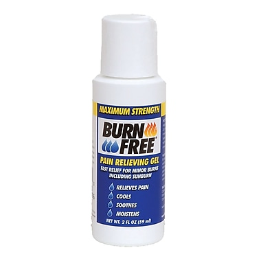 BurnFree Pain Relieving Gel, 2oz bottle