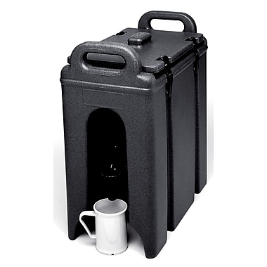 Cambro 250LCD-110, 21/2 gal Beverage Carrier - Camtainer, Black
