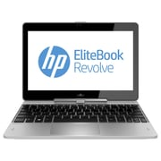 HP® EliteBook Revolve 810 G2 11.6 TouchScreen Notebook PC, Intel® Dual-Core i7-4600U 2.1 GHz