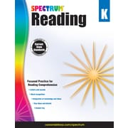 Spectrum Reading Workbook (Grade K)