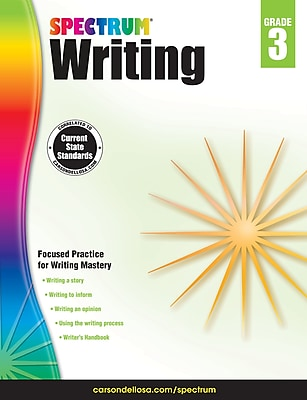 Spectrum Writing (Grade 3) 1233662