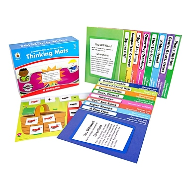 Carson Dellosa Thinking Mats Classroom Support Materials (Grade 1)