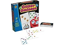 Brighter Child Critter ominoes Board Game (Grades PK - 1)