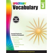 Spectrum Vocabulary (Grade 3)