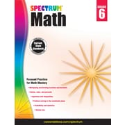 Spectrum Math Workbook (Grade 6)