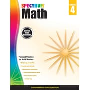 Spectrum Math Workbook (Grade 4)