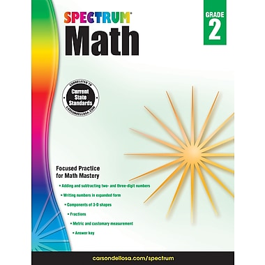 Spectrum Math Workbook (Grade 2)