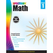 Spectrum Math Workbook (Grade 1)