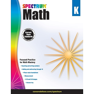 Spectrum Math Workbook (Grade K)