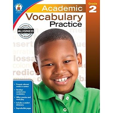 Academic Vocabulary Practice (Grade 2)