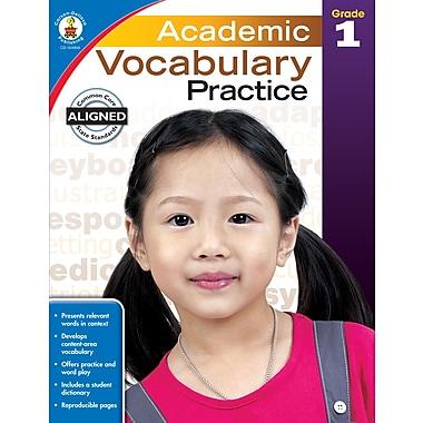 Academic Vocabulary Practice (Grade 1)