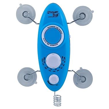 SHOWER BUG 2.0 AM/FM SB02HB Radio Blue