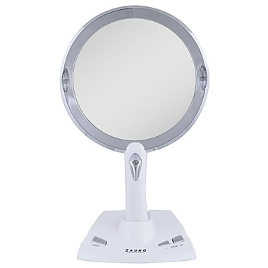 Zadro Acrylic Power Zoom LED Lighted Vanity Mirror 13