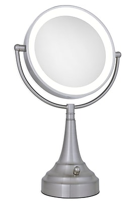 Led Lighted Vanity Mirror Next Generation : NEXT GENERATION LED Lighted Vanity Mirror, Round Staples