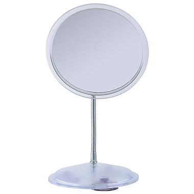 Zadro Metal Gooseneck Vanity Mirror 11.25