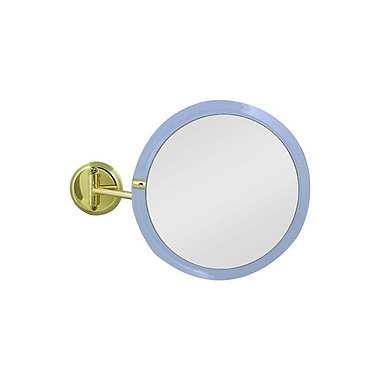 Zadro Acrylic Single Sided Non-Lighted Wall Mount Mirror 9.5