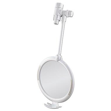 Z'FOGLESS Plastic Fogless Shower Mirror 8