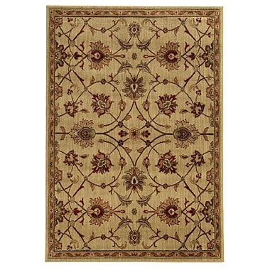 StyleHaven Oriental Beige/ Tan Indoor Machine-made Polypropylene Area Rug (5'3