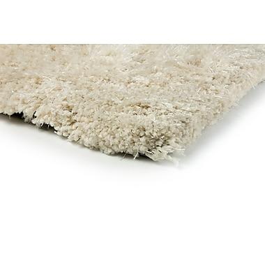 StyleHaven Shag Beige/ Beige Indoor Hand-made Polyester Area Rug (5' X 7')