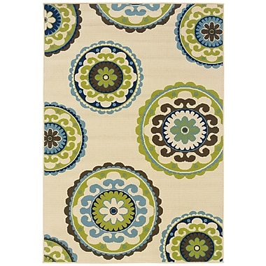 StyleHaven Medallion 859J6 Indoor/Outdoor Area Rug