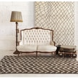 "StyleHaven Tribal Ivory/ Brown Indoor Machine-made Polypropylene Area Rug (6'7"" X 9'1"")"