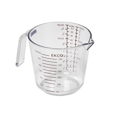 EKCO 3 Cup Plastic Measuring Cup WYF078276536627