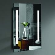 CIVIS USA Alexander LED Lighted Mirror; 24'' H x 20'' W x 2'' D