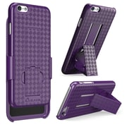 "i-Blason Apple iPhone Plus 5.5"" Case - Transformer Series Slim Hard Shell Holster Combo - Purple"