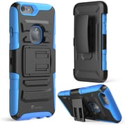 "i-Blason Apple iPhone 6 and 6s 4.7"" Case - Prime Series Dual Layer Holster Case - Blue"