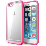 "i-Blason Apple iPhone 6 Plus and iPhone 6S Plus 5.5"" Case - Halo Series Scratch Resistant Transparent Hybrid Case - Pink"