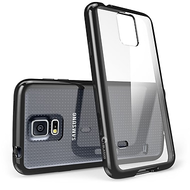 i-Blason Samsung Galaxy Note 4 Case - Halo Series Scratch Resistant Transparent Hybrid Case - Black