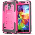 i-Blason Samsung Galaxy Note 4 Case - Armorbox Series Full Protection Case - Pink