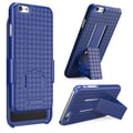 i-Blason Apple iPhone Plus 5.5in. Case - Transformer Series Slim Hard Shell Holster Combo - Blue