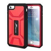 rooCASE Iphone 6 Plus RC-IPH6-5.5-KAP-RD KAPSUL PC TPU Hybrid Armor Cover, Red
