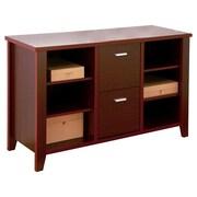 Hokku Designs 2-Drawer 2 File Cabinet; Mahogany
