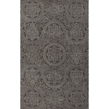 AMER Rugs Ascent Dove Grant Gray Area Rug; 7'6'' x 9'6''