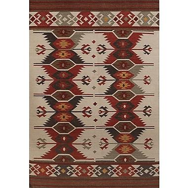 AMER Rugs Makamani Ivory Area Rug; 8' x 10'