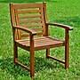 International Caravan Acacia Palmdale Dining Arm Chair