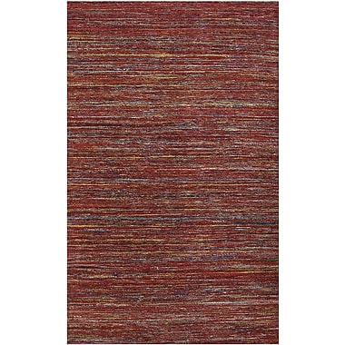 AMER Rugs Banaras Red Area Rug; 2' x 3'